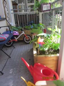 Balkon des Kinderladens
