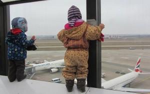 Besuch des Flughafens